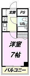 朝日八王子マンション[11階]の間取り