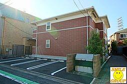 東京都葛飾区奥戸5丁目の賃貸アパートの外観