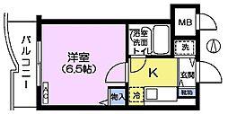 CITY高田馬場[2階]の間取り