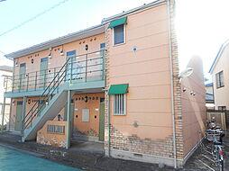 本八幡ガーデンタウンA[1階]の外観