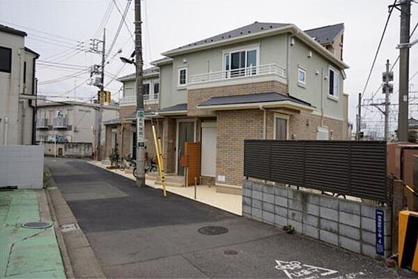 東京都板橋区赤塚新町2丁目の賃貸アパートの外観