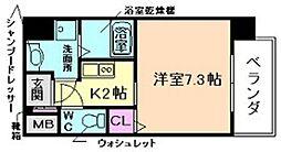 CASSIA福島駅前[5階]の間取り
