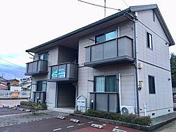 新潟県新発田市中央町1丁目の賃貸アパートの外観
