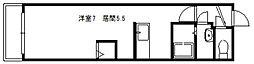コンパス白石[210号室]の間取り