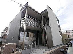 神奈川県厚木市妻田北2丁目の賃貸アパートの外観