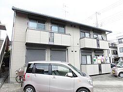 神奈川県大和市上草柳8丁目の賃貸アパートの外観