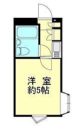 ウィンベル新宿百人町[2階]の間取り