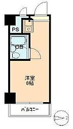 五反田ダイヤモンドマンション[615号室]の間取り