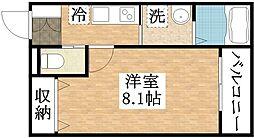 フローリッシュ正覚寺[1階]の間取り