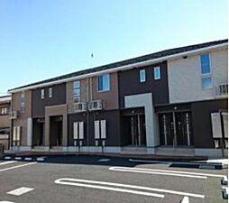 東京都八王子市大船町の賃貸アパートの外観