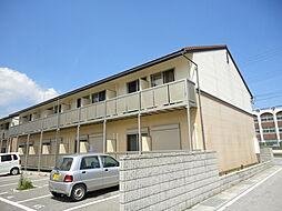 滋賀県長浜市下坂浜町の賃貸アパートの外観
