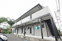 東京都青梅市根ヶ布1の賃貸アパートの外観