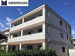 愛知県豊橋市弥生町字西豊和の賃貸マンションの外観