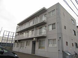 北海道札幌市中央区南十三条西16丁目の賃貸マンションの外観