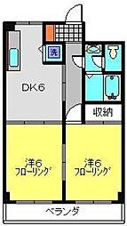 TAハウス[303号室]の間取り