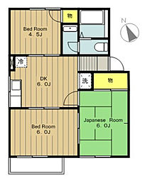 HOUSESEMAIII[1階]の間取り