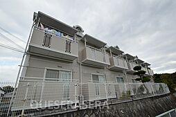 大阪府箕面市粟生間谷西3丁目の賃貸アパートの外観