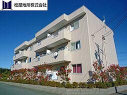愛知県豊橋市南大清水町字藤ケ谷の賃貸アパートの外観