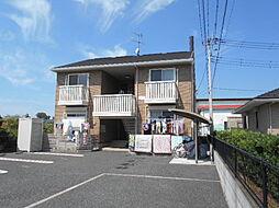 埼玉県三郷市岩野木の賃貸アパートの外観