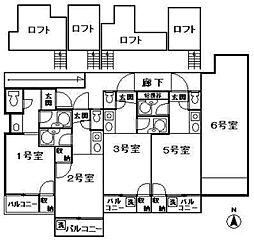 ソフィー21福大前I[205号室]の間取り
