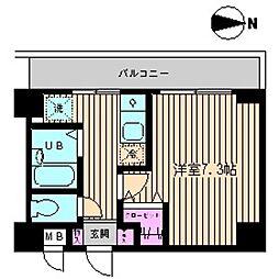 ビイルーム小金井[316号室]の間取り