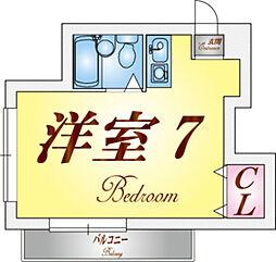 塩屋荘I[2階]の間取り