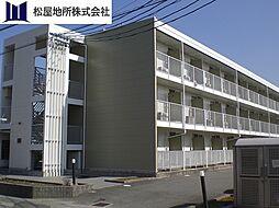 愛知県豊橋市新栄町字汐焼の賃貸アパートの外観