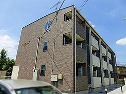 栃木県宇都宮市泉が丘4丁目の賃貸アパートの外観