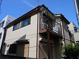 神奈川県川崎市中原区今井西町の賃貸アパートの外観