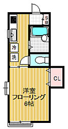 イズ・ステージ[1階]の間取り