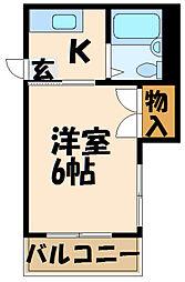 京王多摩川駅 4.3万円