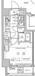 MAXIV川崎 2階1Kの間取り
