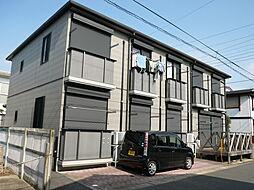千葉県柏市緑ケ丘の賃貸アパートの外観