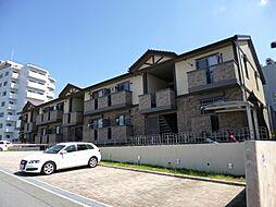 大阪府豊中市少路2丁目の賃貸アパートの外観