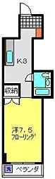 ライオンズマンション台町[B205号室]の間取り
