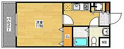 アソシアグロッツォ博多セントラルタワー[4階]の間取り