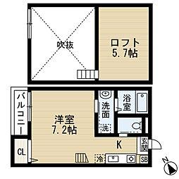 chocolat maison(ショコラメゾン)[2階]の間取り