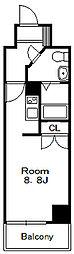 ドゥーエ国府台[14階]の間取り