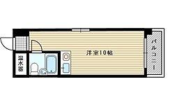 シャンボール第3新大阪[3階]の間取り