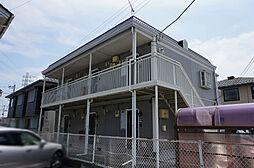 栃木県小山市城北4丁目の賃貸アパートの外観