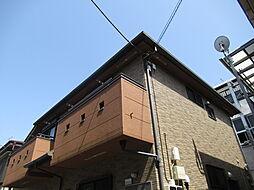 東京都大田区中央3丁目の賃貸アパートの外観