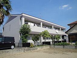 愛知県岡崎市舳越町字十王の賃貸アパートの外観