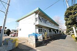 東京都東大和市清水3の賃貸マンションの外観