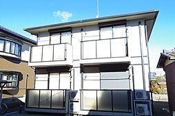栃木県小山市駅南町3丁目の賃貸アパートの外観