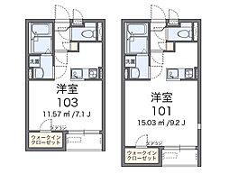 鎌倉 台ノ峰荘[2階]の間取り