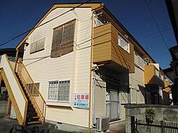 千葉県流山市向小金4丁目の賃貸アパートの外観