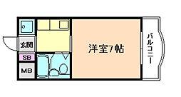 OAK Beer福島[6階]の間取り
