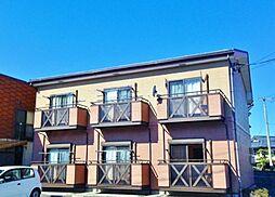長野県松本市村井町南1丁目の賃貸アパートの外観
