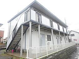 神奈川県伊勢原市東大竹1丁目の賃貸アパートの外観