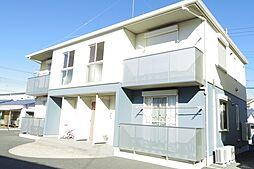 栃木県下野市川中子の賃貸アパートの外観